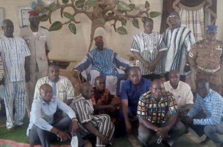 Boxe : la nouvelle équipe fédérale chez le Mooro Naaba Baongho