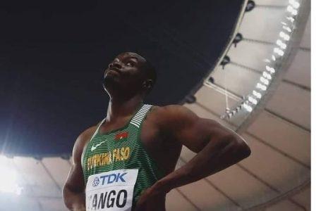 Athlétisme : le Burkinabè Hugues Fabrice Zango détenteur du record du monde en salle du triple saut