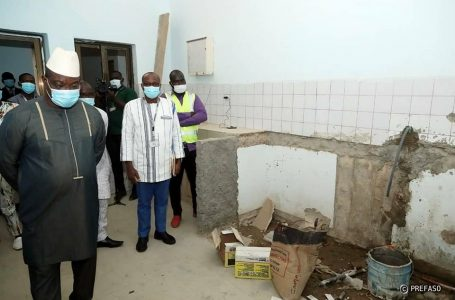 Présidence du Faso : le centre médical en rénovation