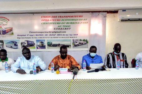 Crise au CBC sur le fret : les transporteurs, opérateurs économiques et chauffeurs du Burkina au Togo prônent le dialogue
