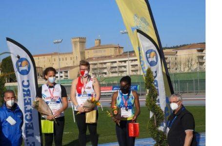 Lancer de poids : Laëtitia Bambara termine 2è aux championnats de France