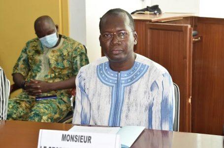 Burkina : le nouveau SG du département de la Communication s'engage à travailler en équipe