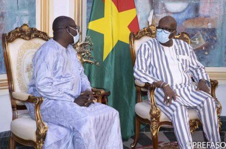 Institut International d'Ingénierie de l'Eau et de l'Environnement : le nouveau Directeur général échange avec le président du Faso