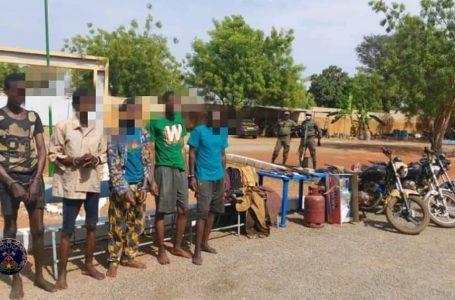 Gaoua : la police nationale met 7 malfrats hors d'état de nuire