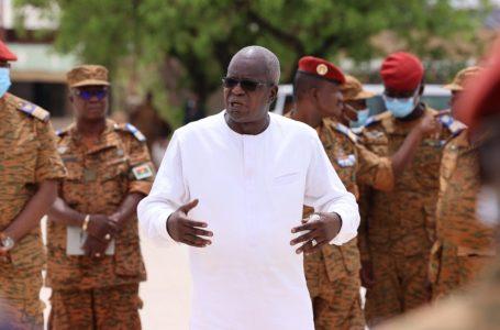 Force armée nationale : Chériff Sy visite les unités militaires de la garnison de Pô