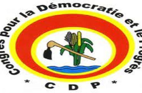 Burkina : 93 militants dont l'ancien ministre Jérôme Bougouma démissionnent du CDP