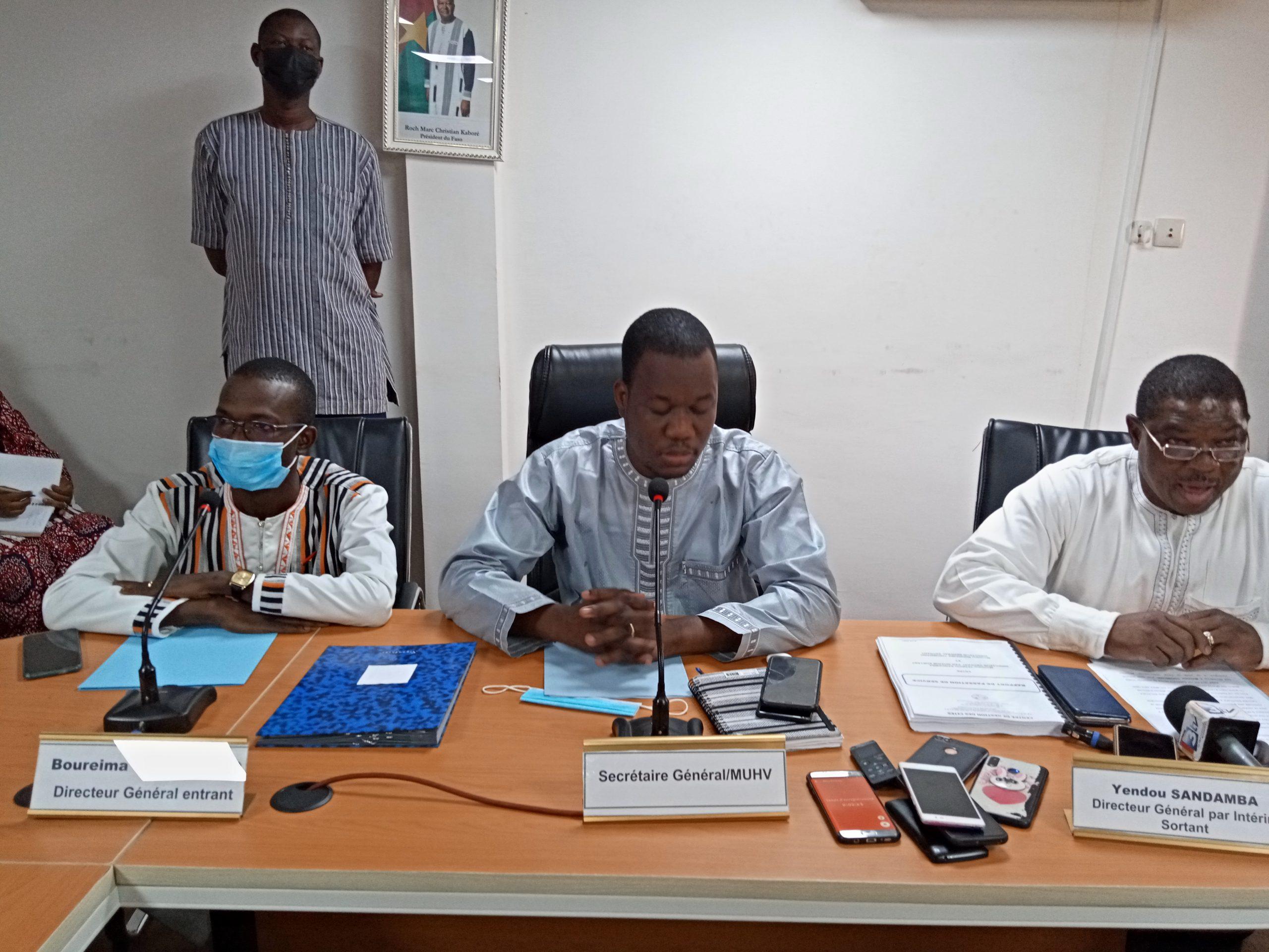 Centre de gestion des cités : Boureima Thiombiano installé dans ses fonctions de Directeur général