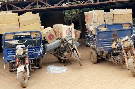 Lutte contre la fraude : la Brigade Mobile de Ouagadougou saisit des médicaments contrefaits et de la cigarette