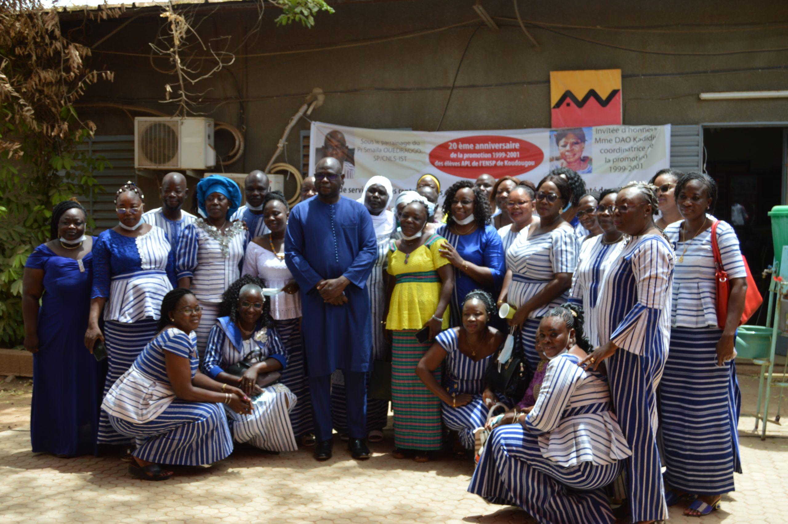 Santé des populations : la promotion 1999-2001 des élèves APC de l'ENSP/Koudougou fête ses 20 ans de sacerdoce