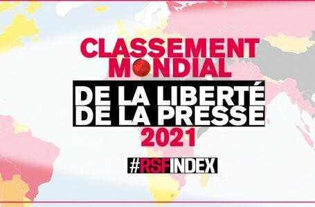 Liberté de la presse 2021 : le Burkina Faso, 1er pays francophone en Afrique, selon RSF