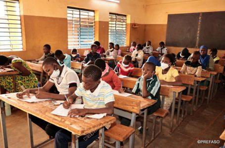 Candidats aux différents examens : le message du président du Faso