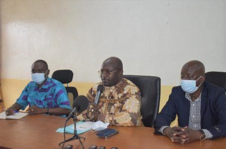 Région de la boucle du Mouhoun: Le ministre de la santé mène un échange franc avec le personnel de la santé