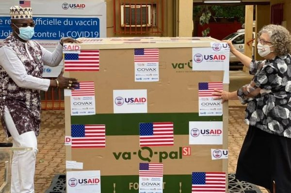 Lutte contre la COVID-19: Le peuple américain fait don du vaccin Johnson and Johnson au Burkina Faso