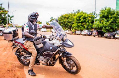 Sécurité routière : plus d'une centaine de motards se donnent rendez-vous à Ouagadougou du 30 octobre au 1er novembre 2021