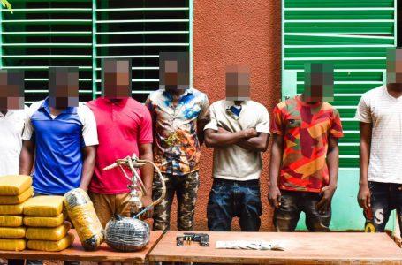 Lutte contre l'insécurité urbaine : trois réseaux de malfaiteurs mis hors d'état de nuire par la police nationale.