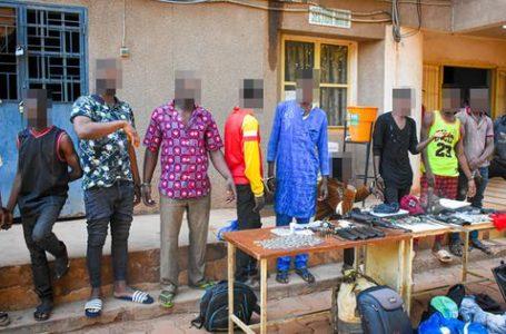Criminalité urbaine : plusieurs foyers de présumés délinquants démantelés par la police nationale à Ouagadougou
